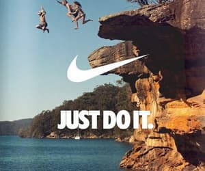 nike, Just Do It, and summer image