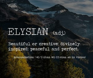 meaning, words, and perfect image