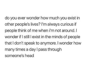 curious, live, and exist image