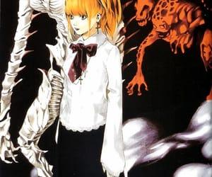 death note, manga, and misa misa image