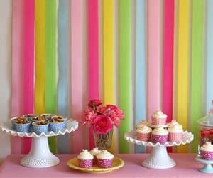 pastel, diy decor, and party decor image