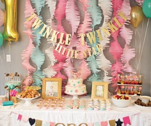balloons, pastel, and party decor image