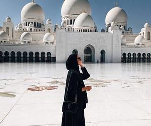 abu dhabi, arab, and architecture image