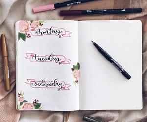 creative, journal, and diy image