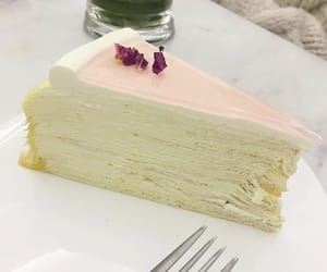 pink, rose, and crepe image