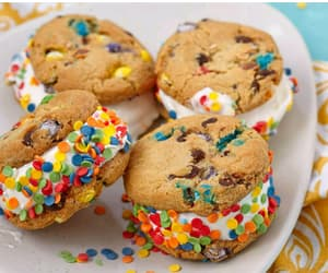 chocolate chip, cookie, and delicious image