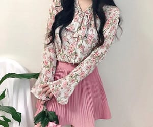 clothes, korean girl, and outfit image