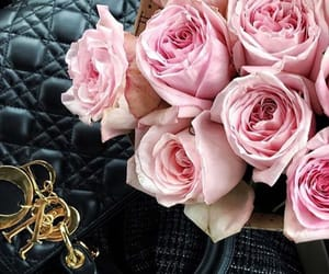 beautiful, bouquet, and dior image