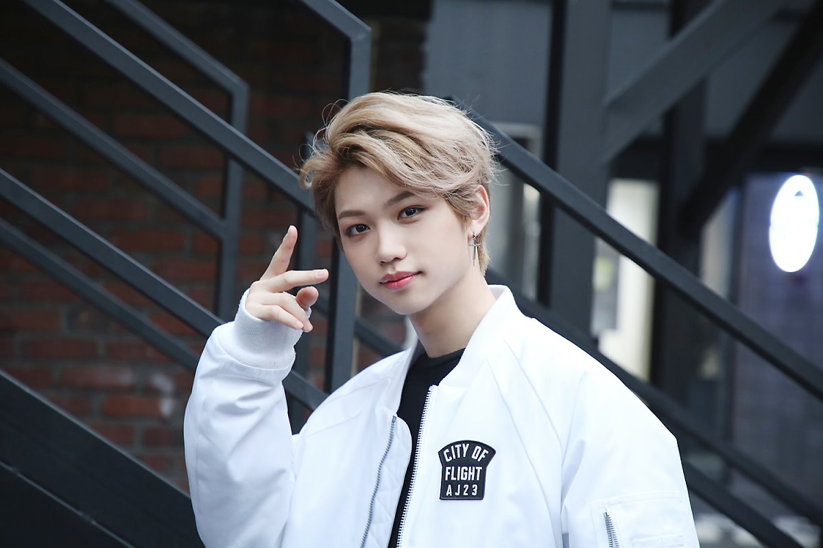Stray kids, felix. shared by lost on We Heart It