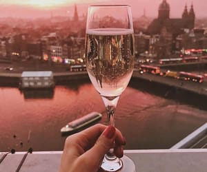 beautiful, champagne, and city image