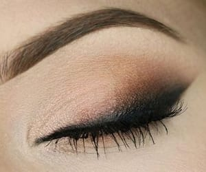 eye, fashion, and make up image