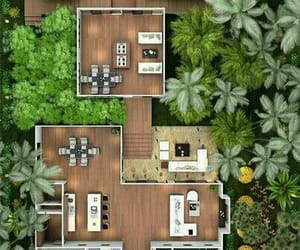 house, plans, and planos image