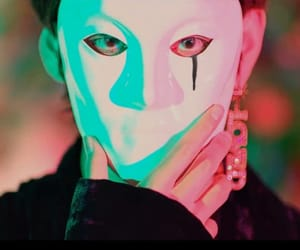 aesthetic, kpop, and mask image