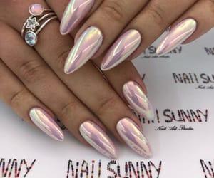 long nails, nails, and stiletto nails image