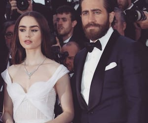 lily collins, jake gyllenhaal, and cannes image