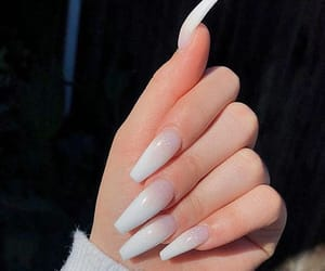 girl, nails, and ombre image