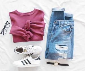 adidas, fashion, and glasses image