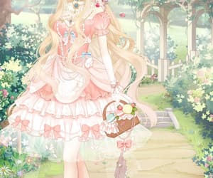 anime, candy, and pink pastel image