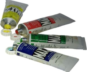 art supplies, Polyvore, and paint image