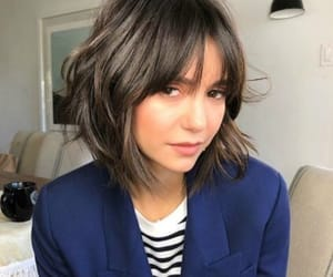 Nina Dobrev and hair image
