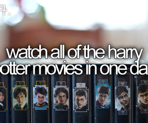 harry potter, before i die, and movies image