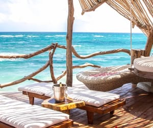 Island, mexico, and relax image