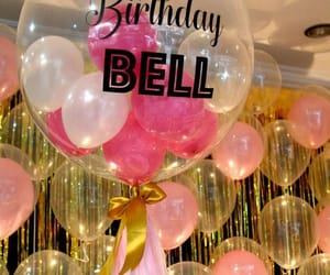 balloons, birthday, and decor image