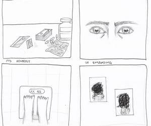 broken, depressed, and depression image
