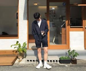 asian boy, boyfriend, and outfit image