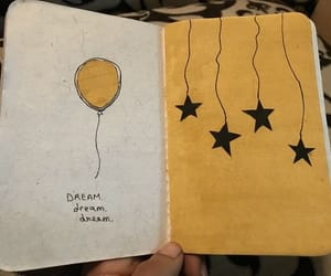 journaling, yellow, and aesthetic image