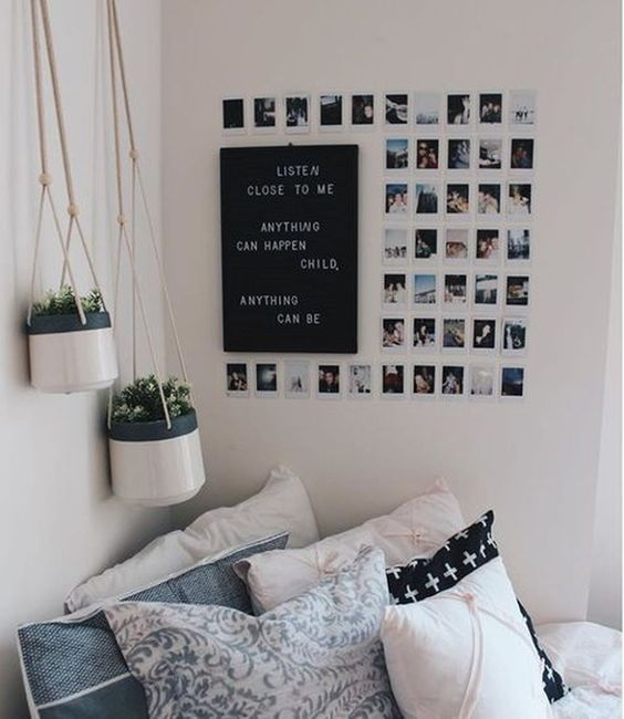 black white decoration ways to your bedroom | re-decorate your room 2018 ღ how to have a aesthetic room