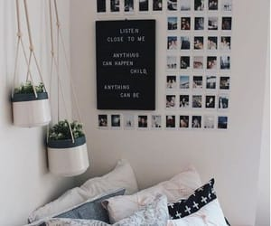 article, fairy lights, and room image