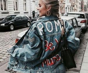 fashion, denim, and style image