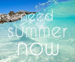 happy, summer, and summertime image
