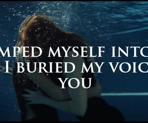 blue, drowning, and for you image