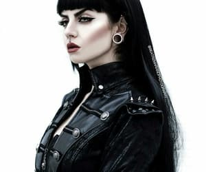 alternate, goth, and model image