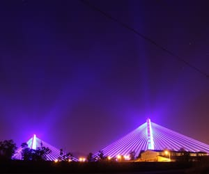night and purple image