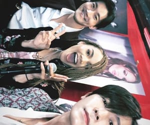 Leeteuk, yesung, and leslie grace image