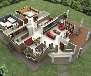 casas, house, and plans image