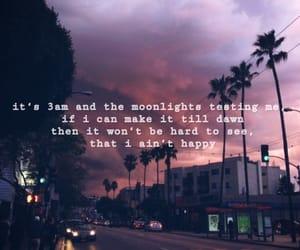 dawn, Lyrics, and moonlight image