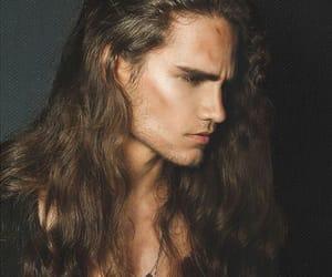 long hair, Hot, and guy image