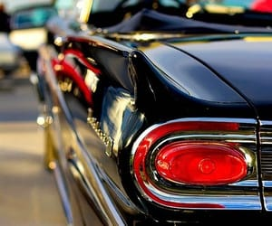 cars, vintage, and convertible image