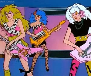 gif, jem, and jem and the holograms image