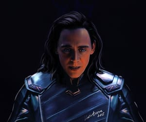 Avengers, Marvel, and loki image