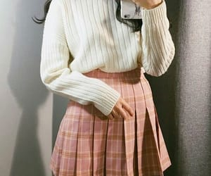casual, cream, and knitwear image
