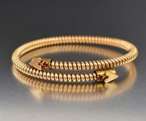bracelet, heart, and dragon image