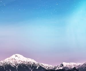 landscape, mountain, and snow image