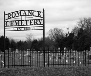 cemetery and romance image