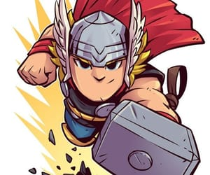 drawing and thor image