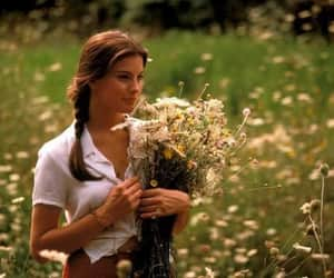 beauty, flowers, and movie image
